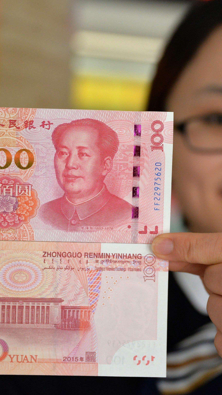 Chinas Yuan ist die fünfte Welt-Reservewährung.