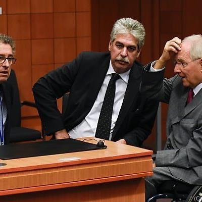 Verhandlungen der elf Finanzminister der Eurozone