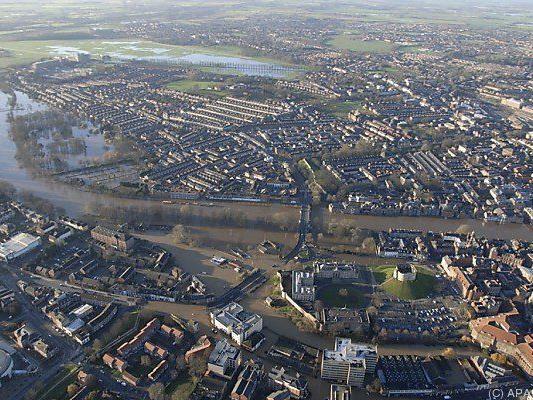 Massive Überschwemmungen in York