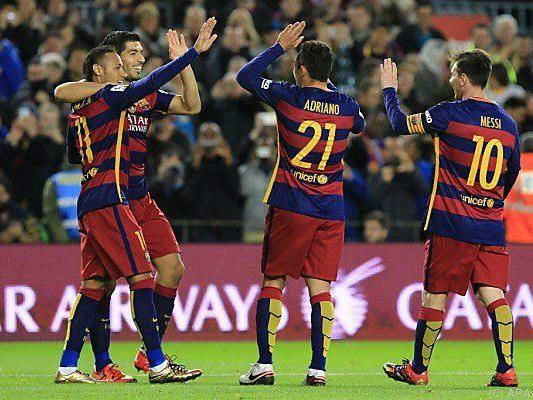 Barcelona feierte 4:0-Heimsieg über Real Betis