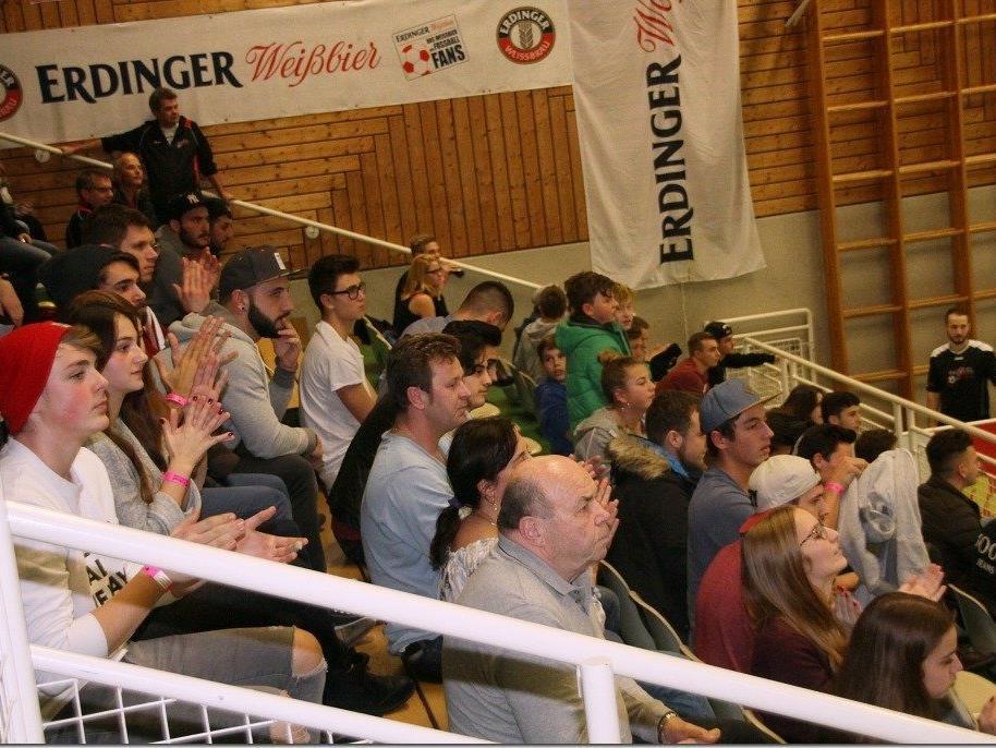 Die Fans aus Lochau jubelten