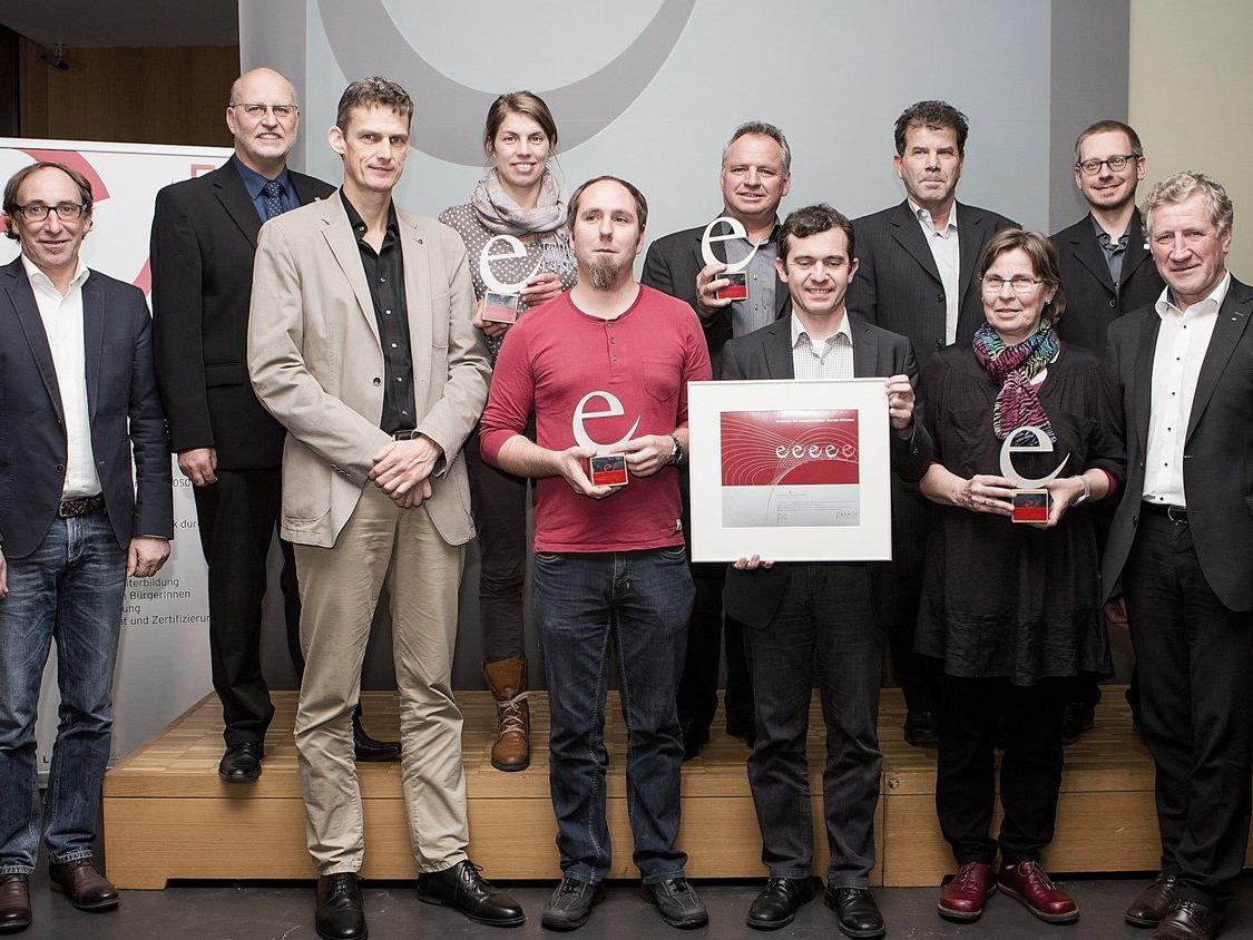 Das Rankweiler e5-Team bei der e5-Zertifizierung 2015