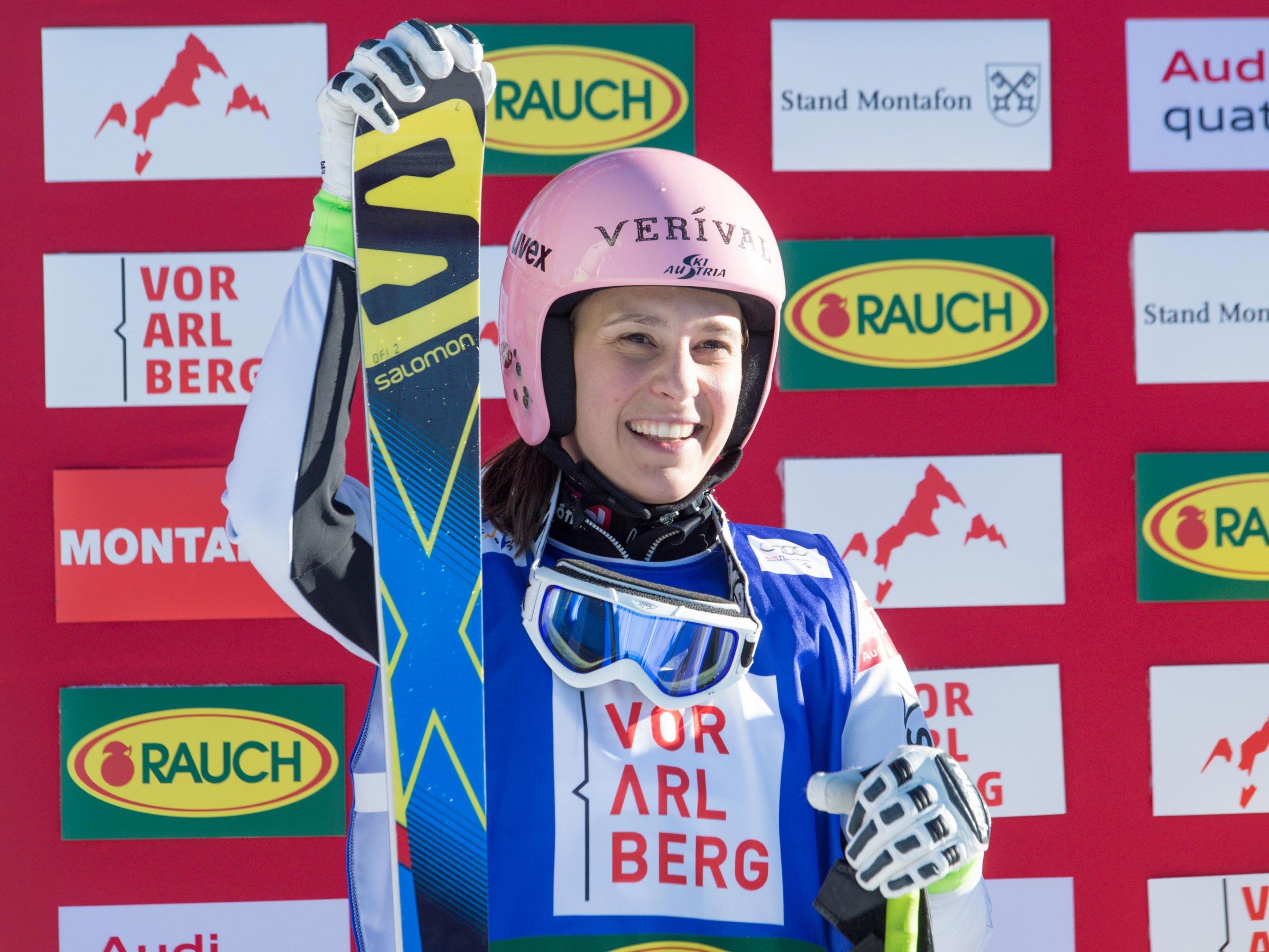 Podestplatz für Ski-Crosserin Katrin Ofner.
