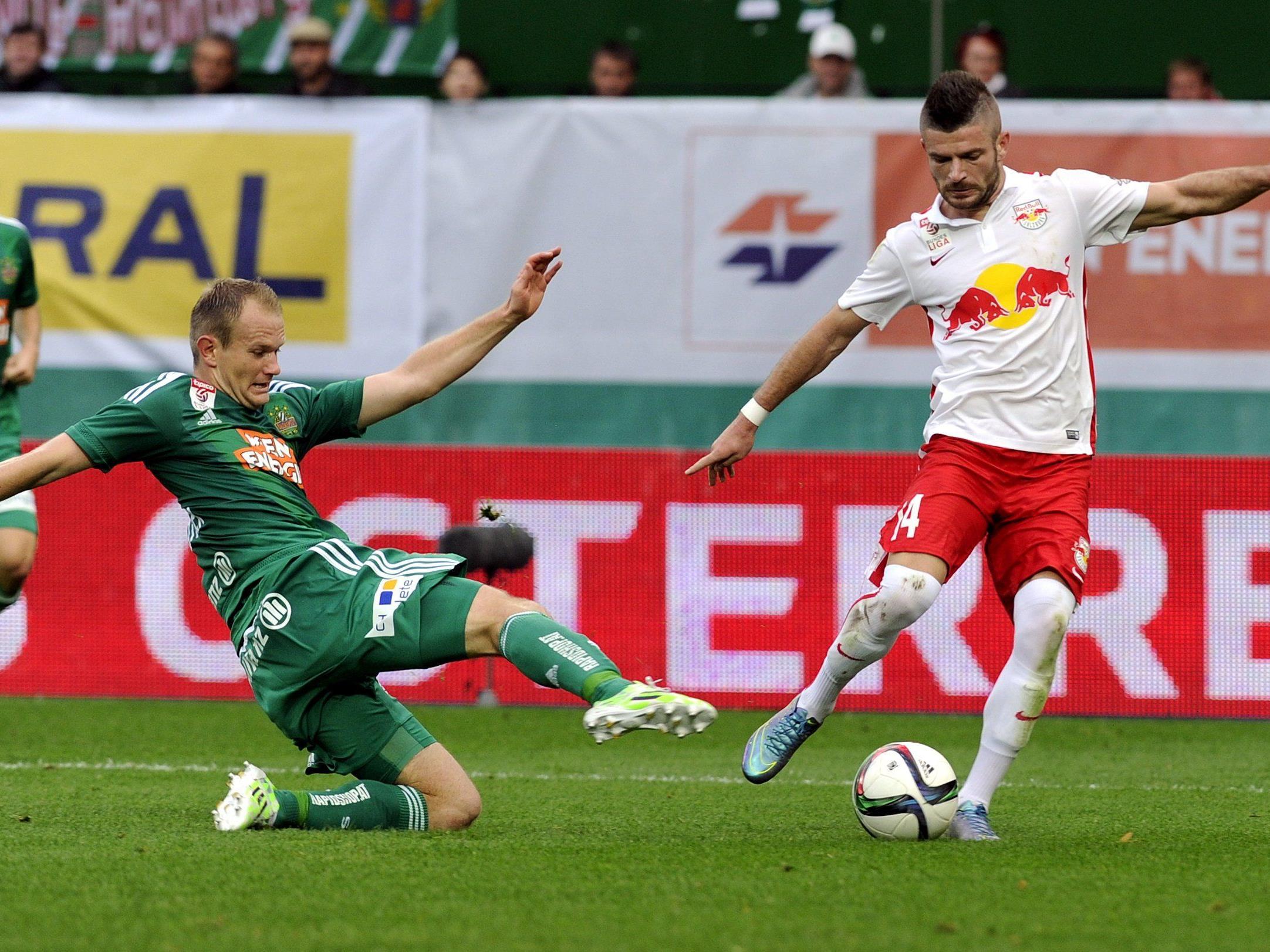 LIVE-Ticker zum Spiel Red Bull Salzburg gegen SK Rapid Wien ab 16.30 Uhr.