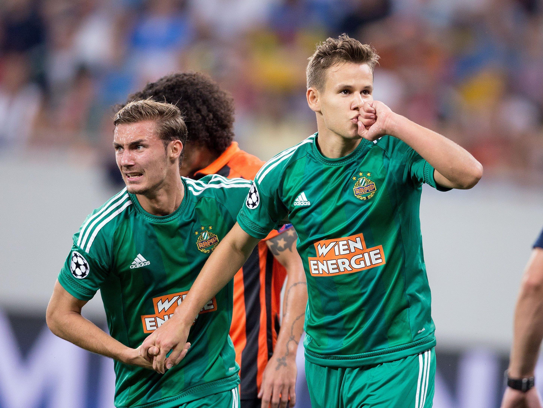 Auch Louis Schaub fällt beim SK Rapid Wien für mehrere Monate aus.