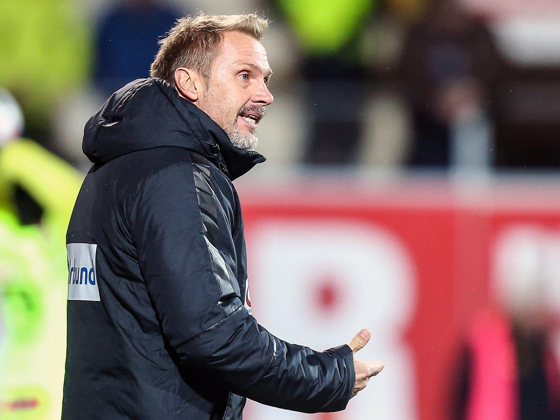 Austria-Trainer Thorsten Fink hält nichts von Schwarzmalerei.