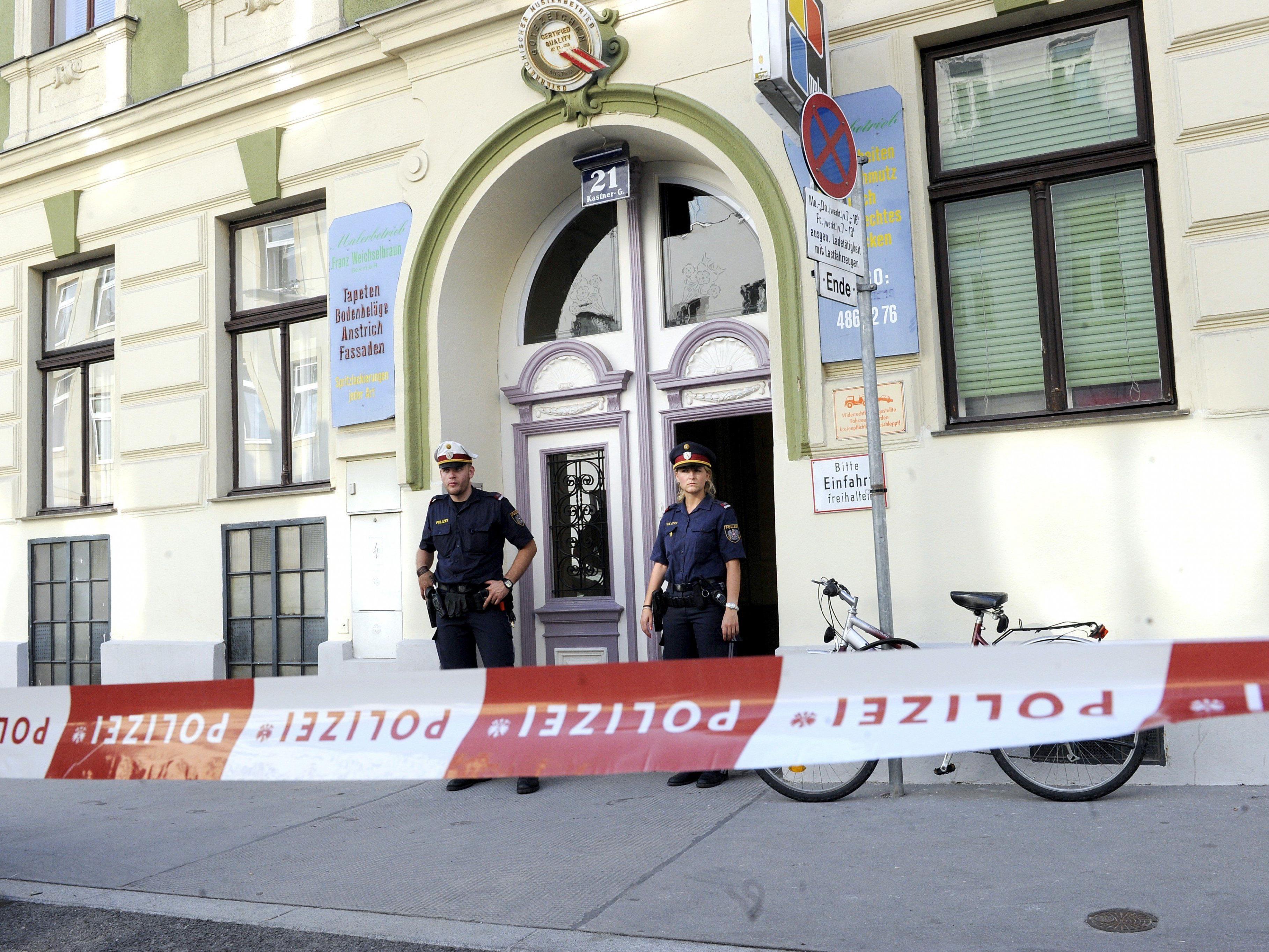 20 Tötungsdelikte kontnen 2015 in Wien geklärt werden.