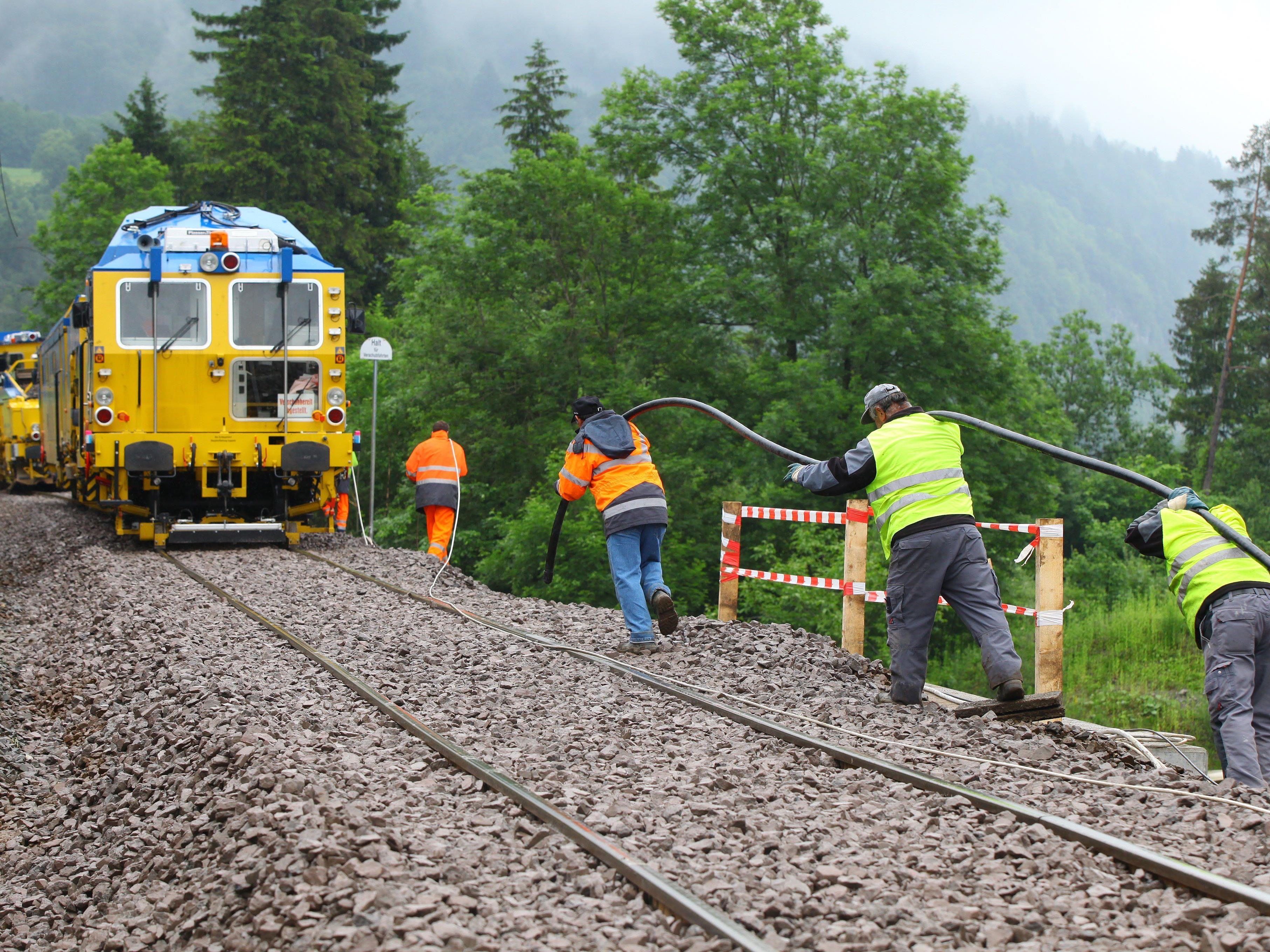 Der Ausbau der Arlbergstrecke steht bei Verkehrsminister Stöger nicht auf dem Plan.