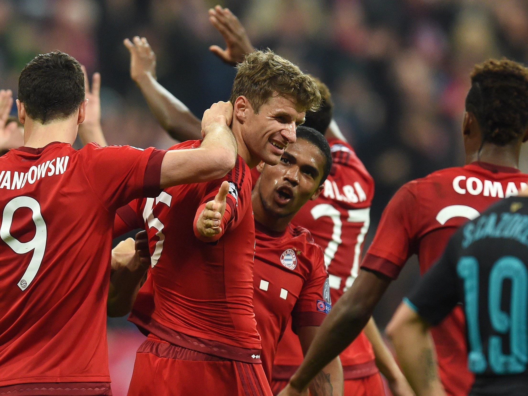 Die Bayern wollen am 16.Spieltag den Herbstmeistertitel fixieren.