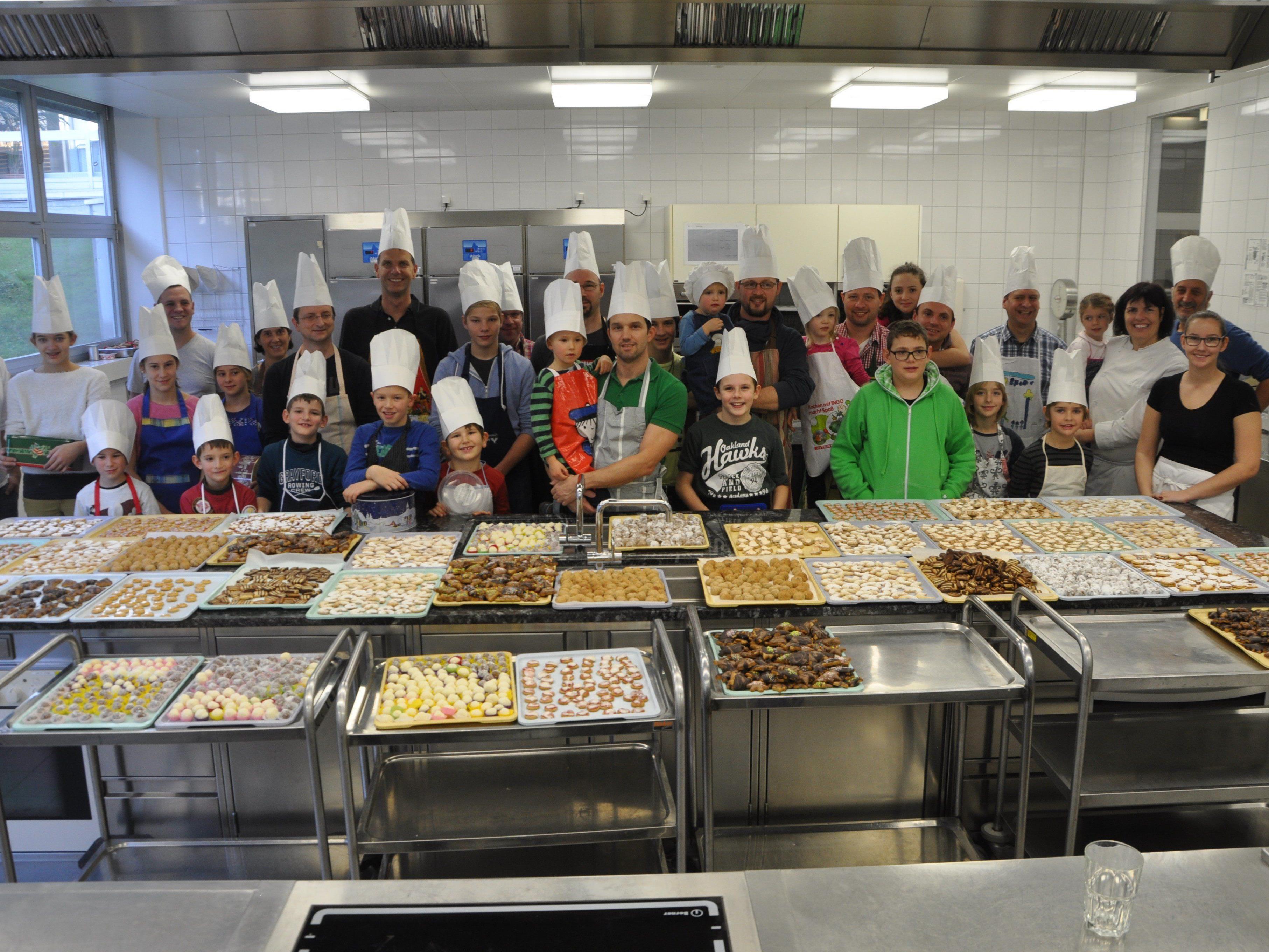 Feine Kekkse gab es in der Rankweiler Weihnachtsbäckerei
