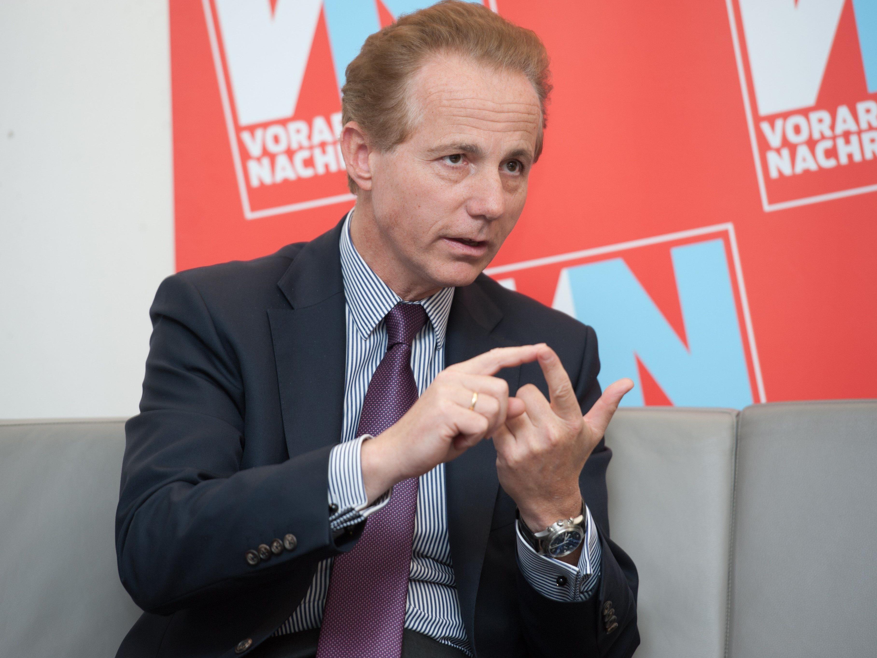 IV-Vorarlberg-Präsident Ohneberg wird nicht kandidieren.