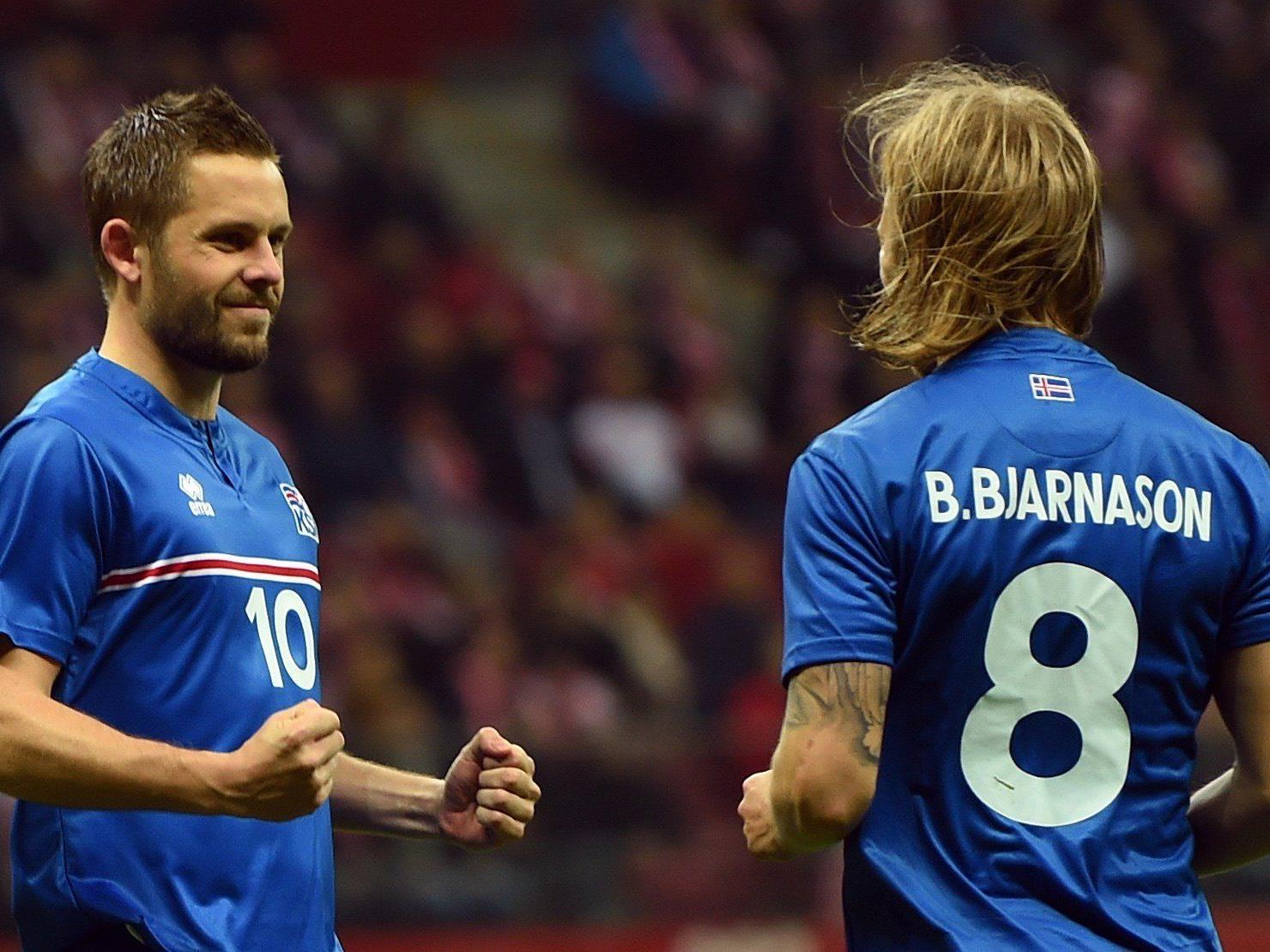 Die Isländer sind erstmals bei einem großen Turnier dabei.