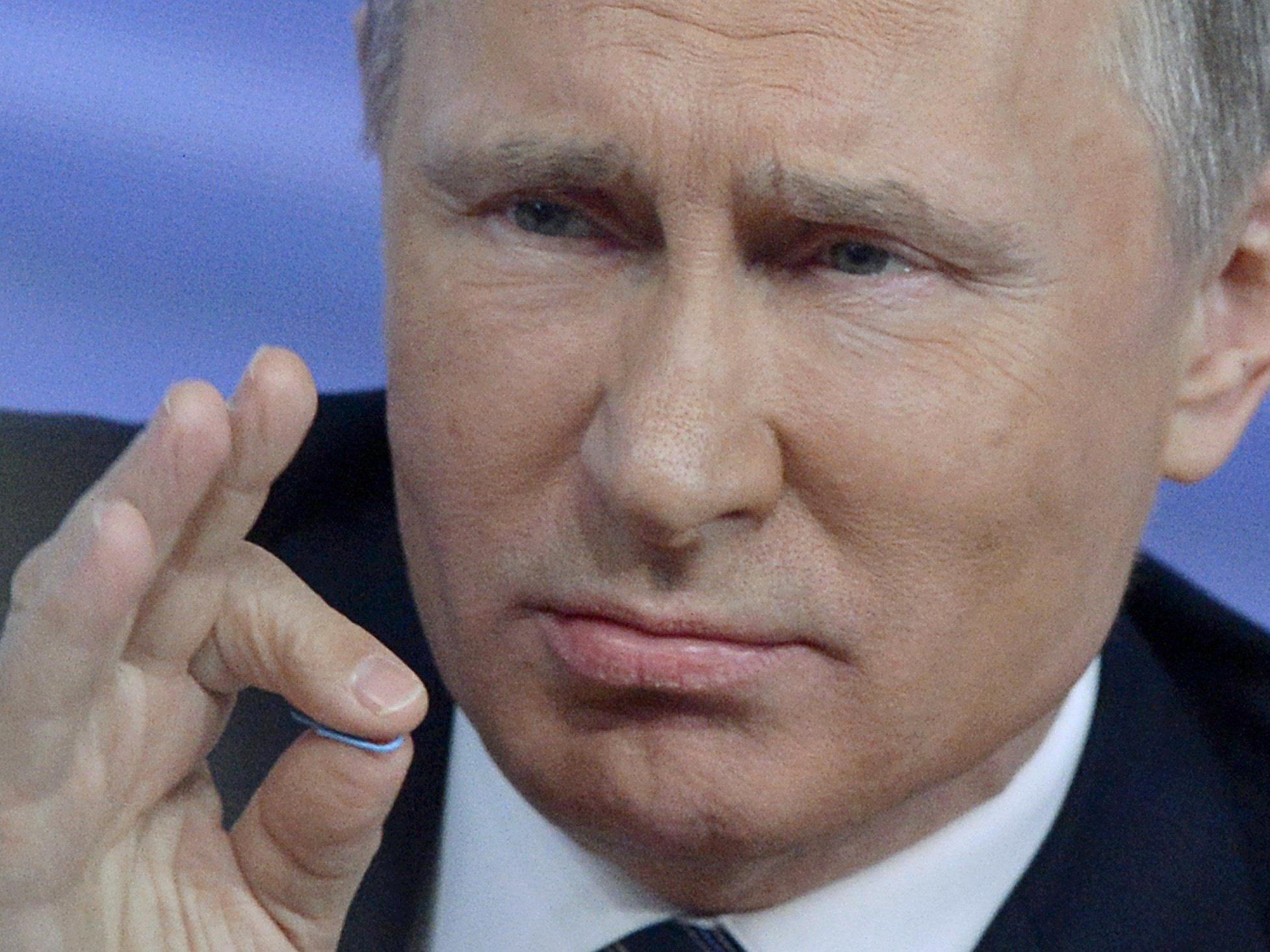 """Putin sieht """"keine Perspektive"""" für bessere Beziehungen."""