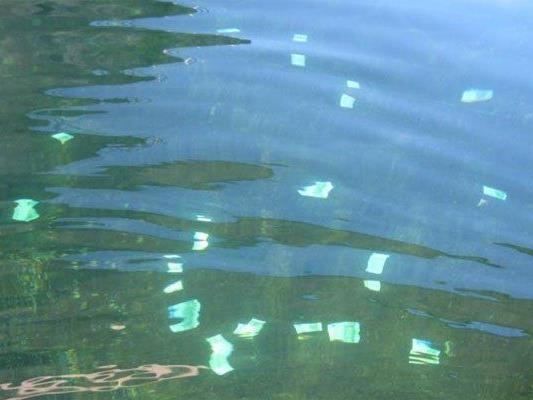 Das im Wasser entdeckte Geld wurde anscheinend verloren