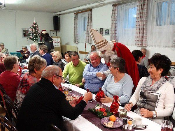 Frohe Weihnachten auch beim PVÖ Frastanz