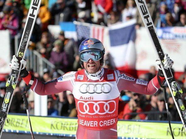 Aksel Lund Svindal feierte den dritten Weltcup-Sieg in Serie.