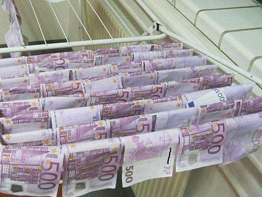 In der Neuen Donau gefunden und getrocknet: Rund 130.000 Euro
