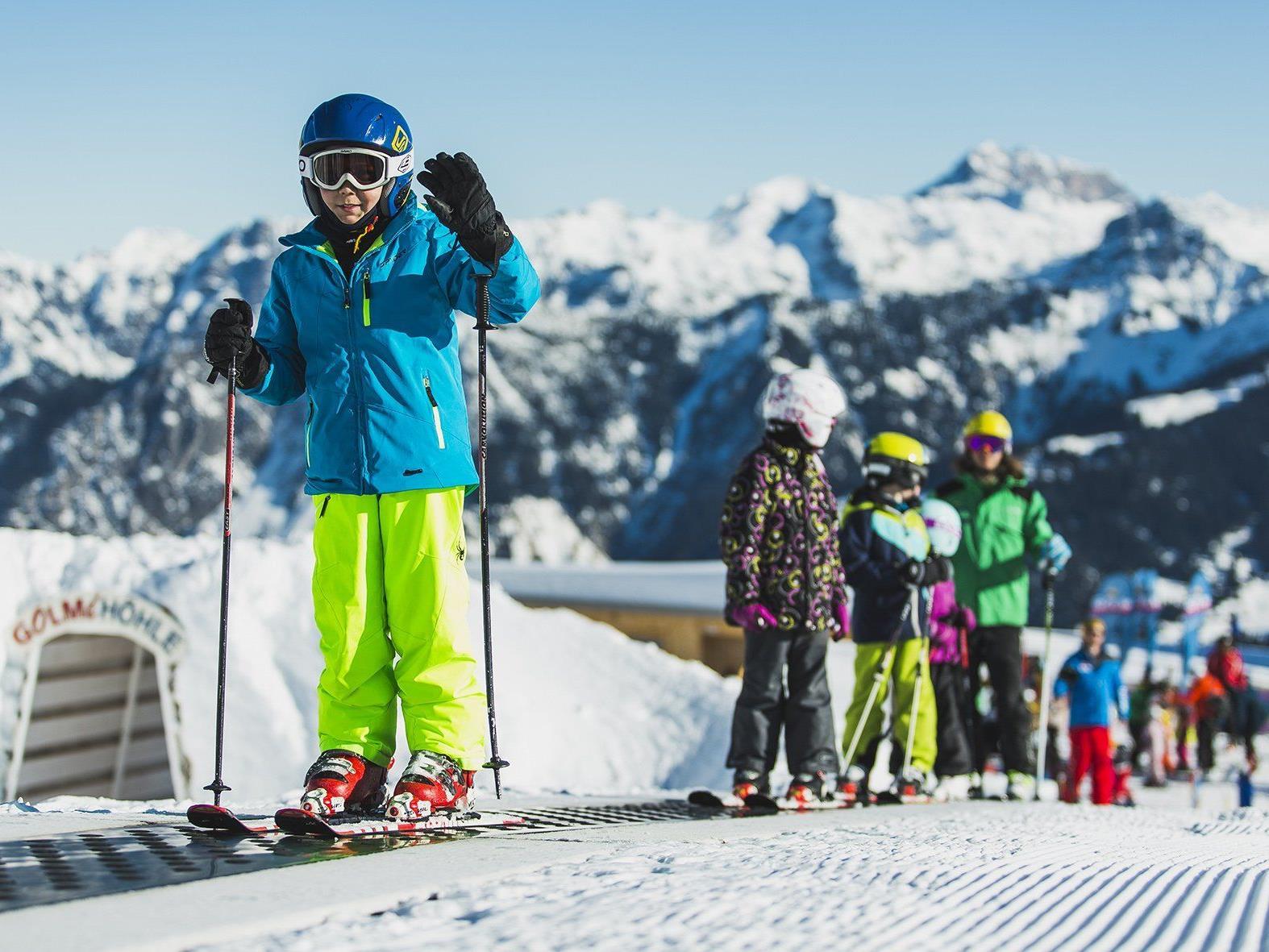 Skigebiet Golm eröffnet kommenden Freitag die Wintersaison.
