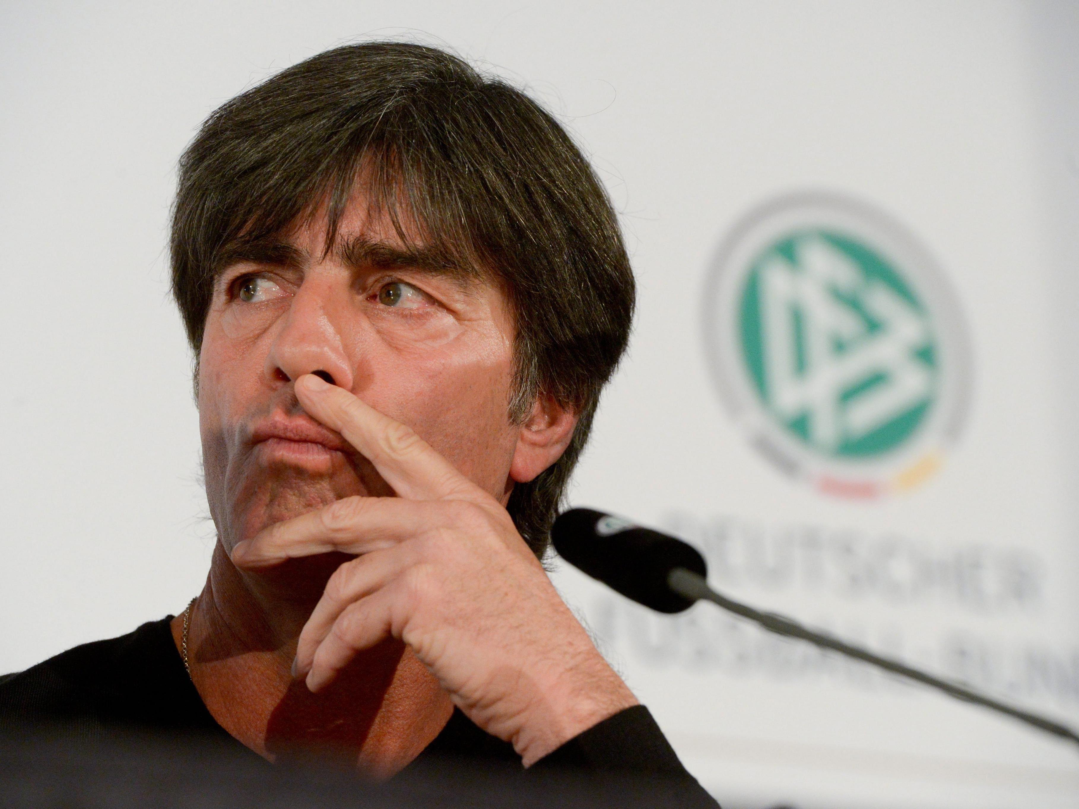 Joachim Löw hat mit dem DFB-Team weiter Großes vor.
