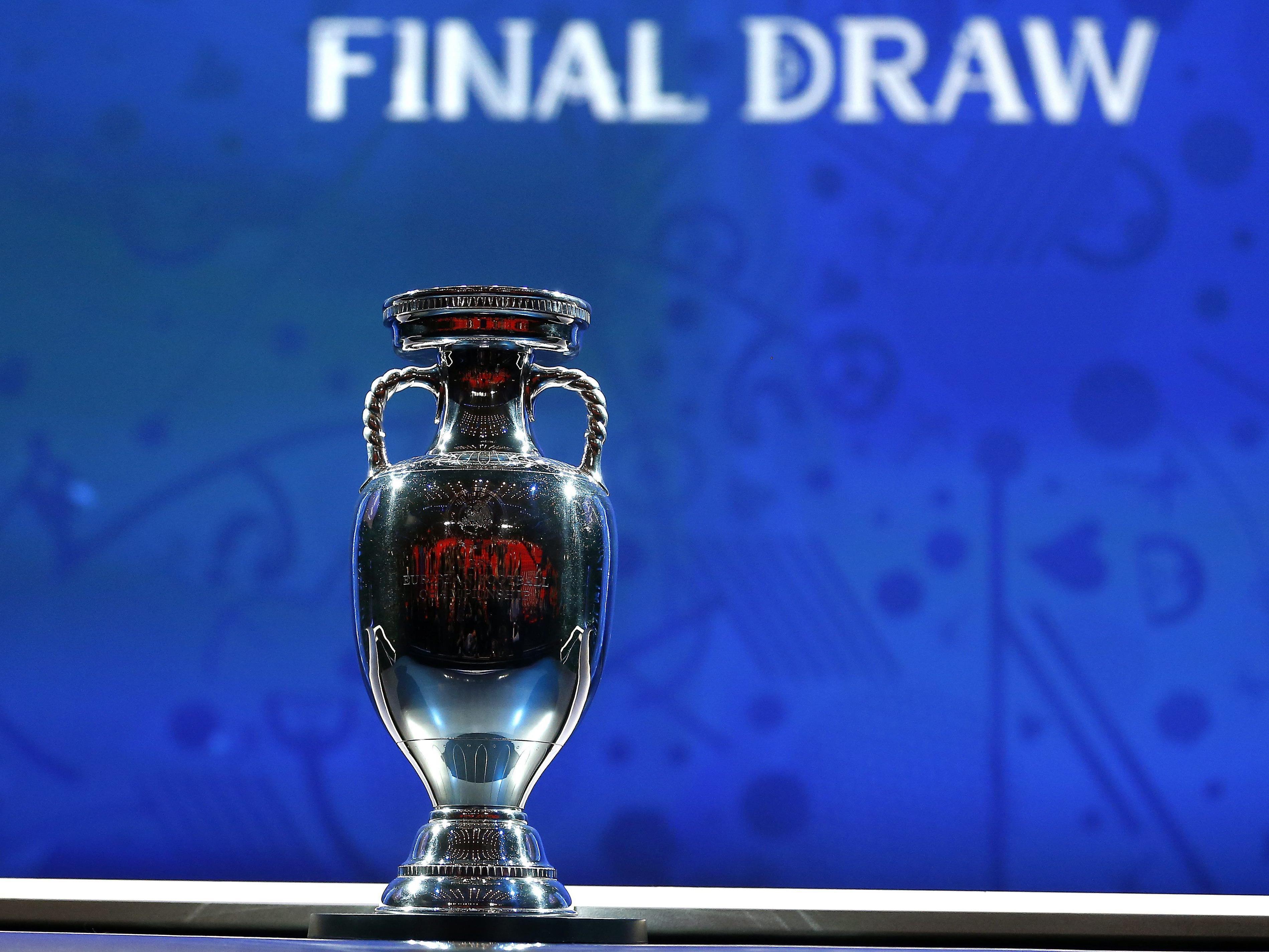 Das ist die Gruppeneinteilung bei der Europameisterschaft 2016.