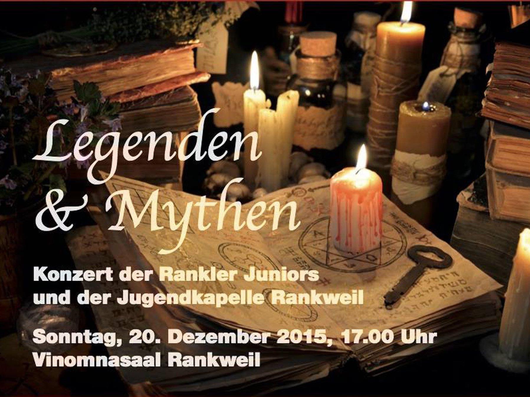 Der Rankweiler Jugendmusik lädt zum Adventskonzert in den Vinomnasaal ein