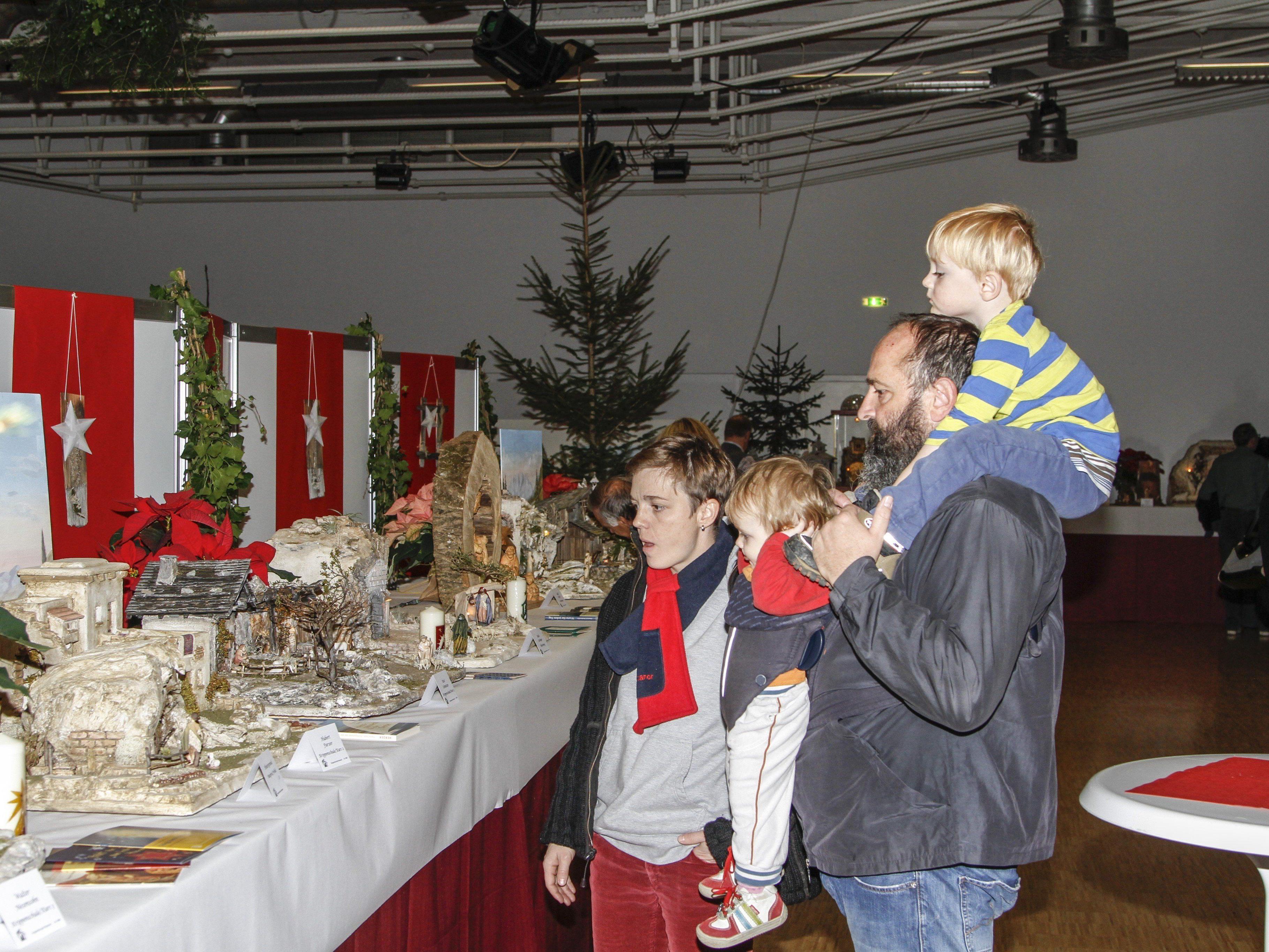 Die Krippenausstellung der Rankweiler Krippenfreunde begeisterte alt und jung.