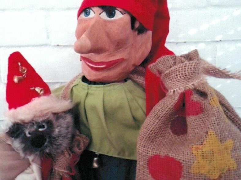 Weihnachtliches Puppentheater