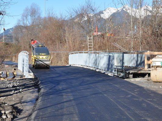 Radwegbrücke Unterer Illrain.