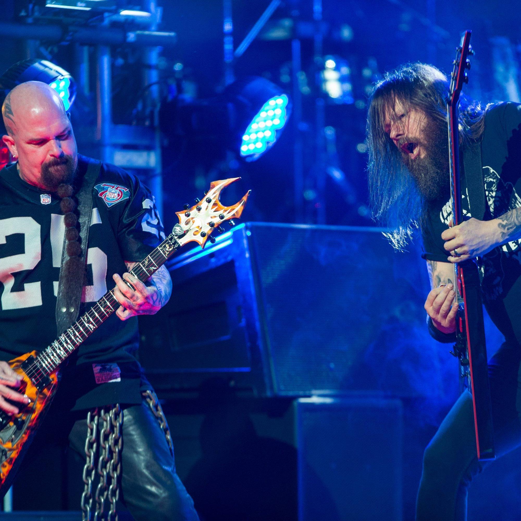 Slayer werden am Rock in Vienna 2016 auftreten.