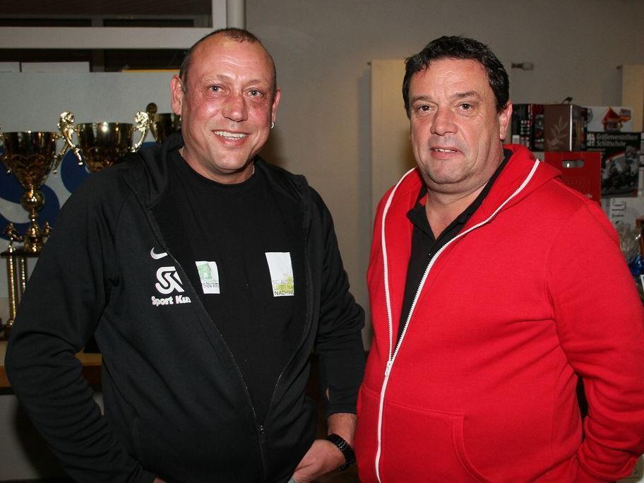Martin Blank mit Alexander Bernhard im Smalltalk für einen guten Zweck