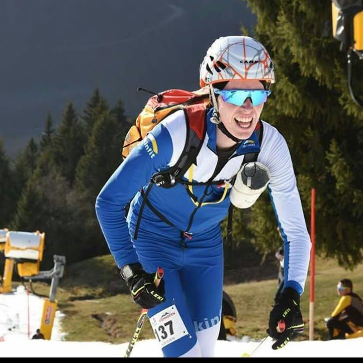 David Aberer aus Hohenems will im Skibergsteigen aufzeigen