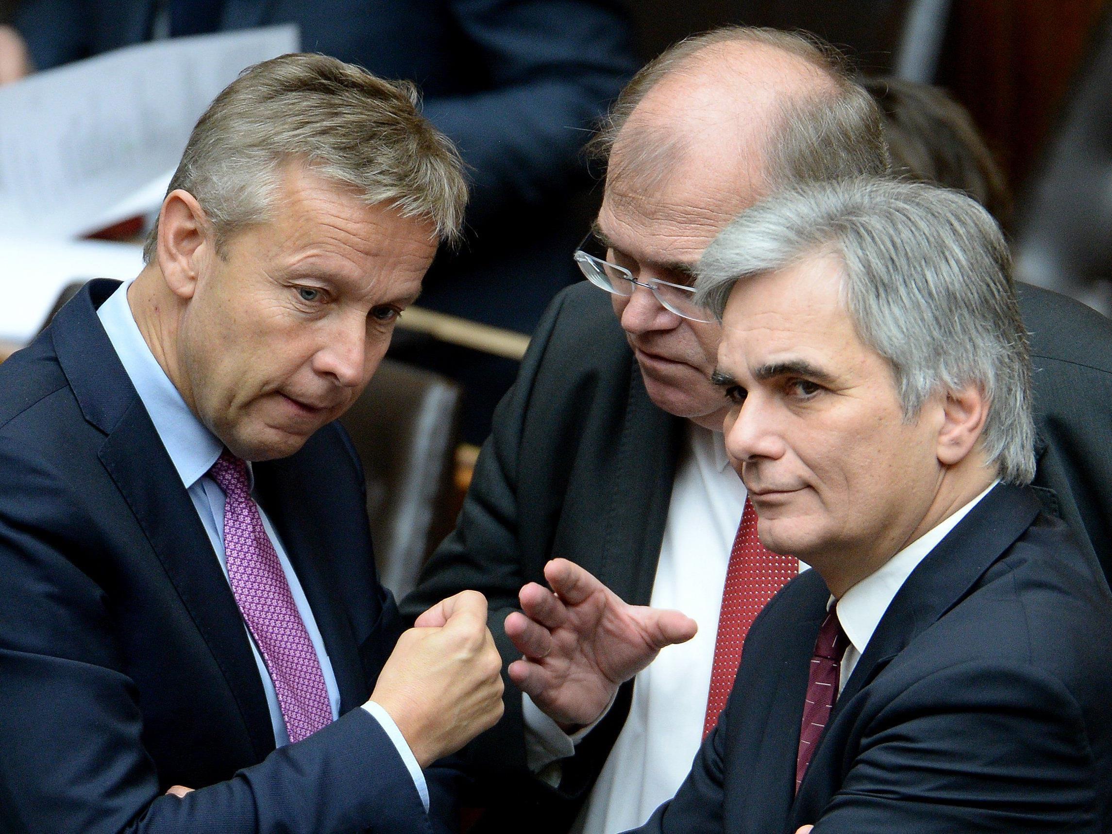 VP-Klubobmann wirf SPÖ vor, bei wichtigen Themen auf der Bremse zu stehen.