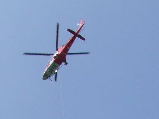 Crew der Rettungsflugwacht konnte den Verunfallten nur noch tot bergen