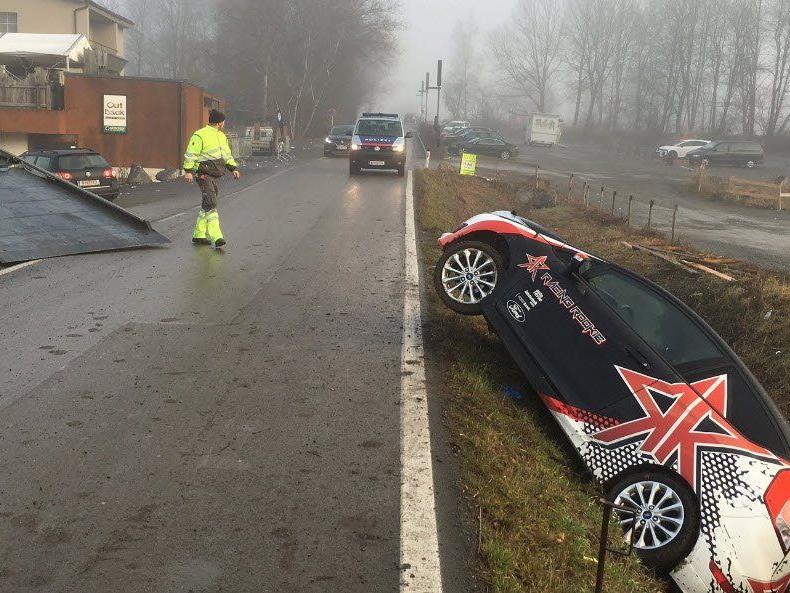 Fahrer flüchtete nach Unfall