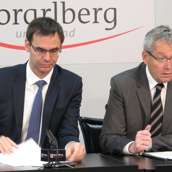 LH Wallner und LSth. Rüdisser: 106 Millionen Euro für Straßen- und Hochbauprogramme 2016 des Landes Vorarlberg