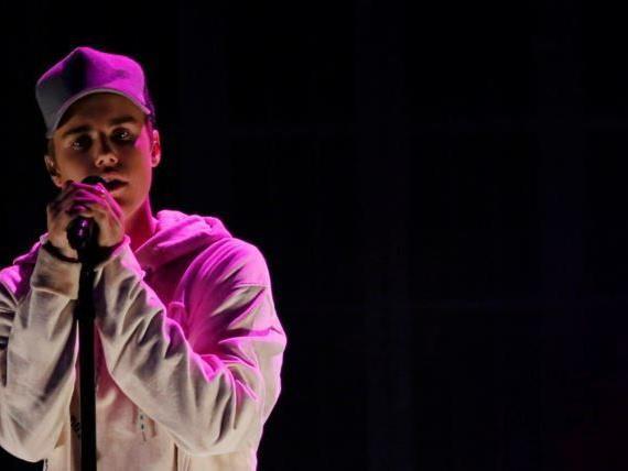Justin Bieber vergnügte sich nach einem Konzert in London.