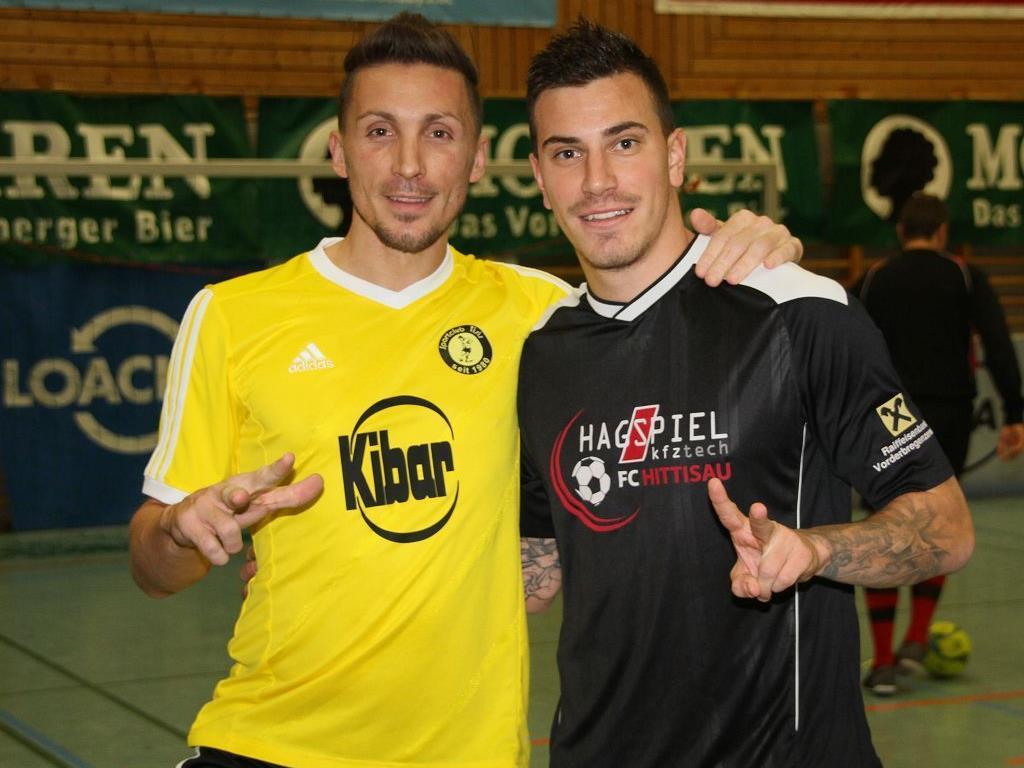 Beste Freunde: Aleksandar Djordjevic und Sandro Gotal