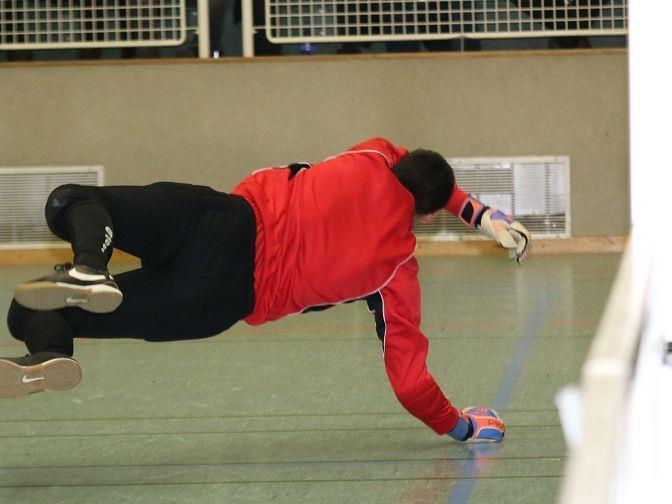 Goalie Andre Kobras war ein großer Rückhalt