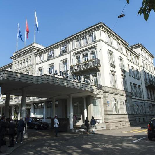 Festnahmen im Züricher Hotel Baur au Lac