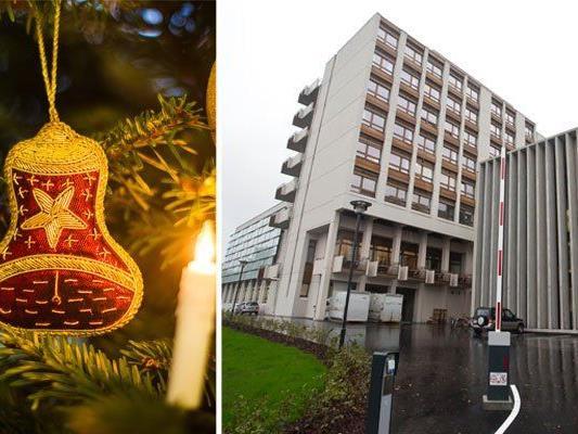 In der Palliativstation in Hohenems ist das Weihnachtsfest friedvoll und besinnlich.