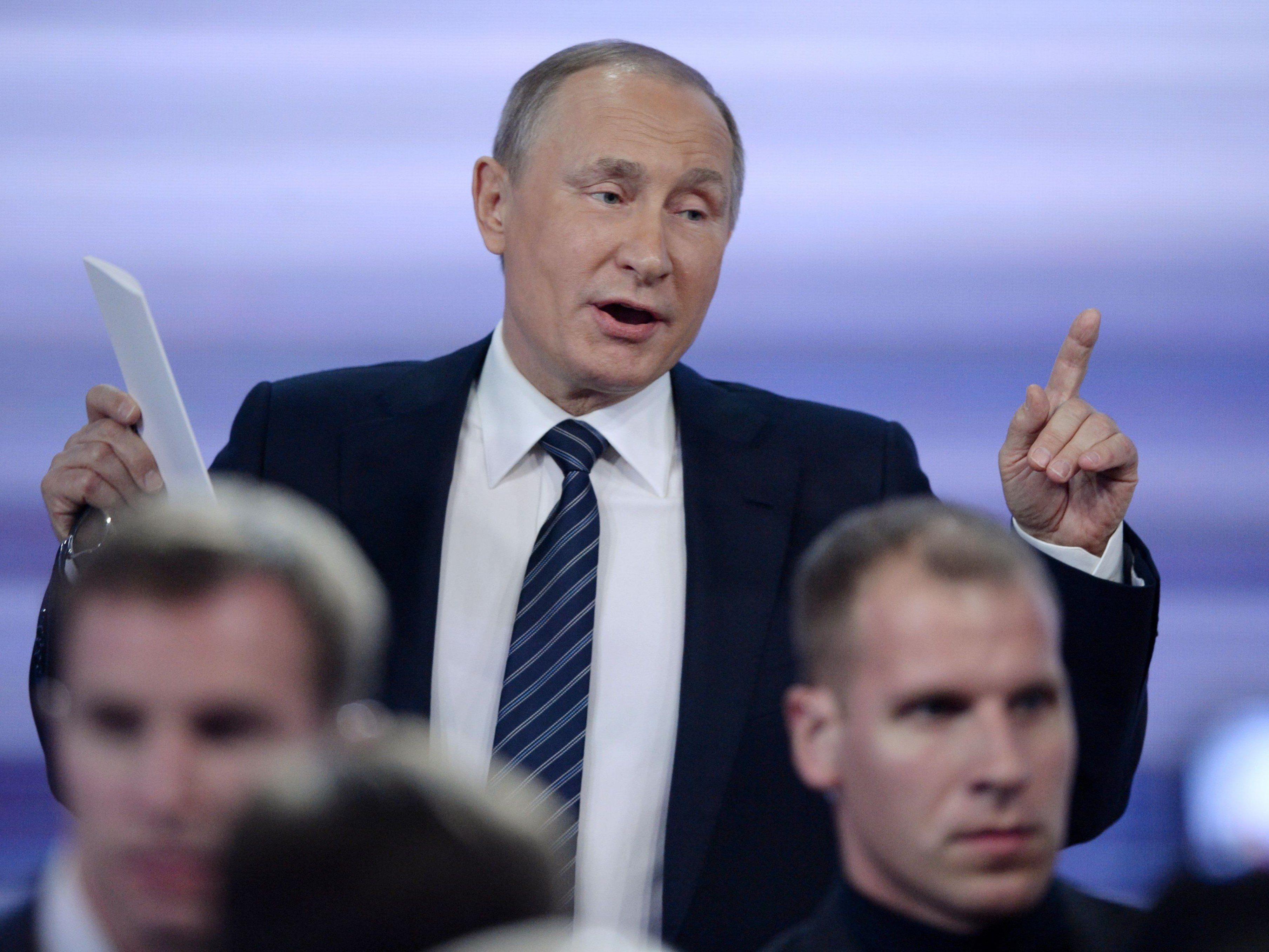 Der Personenkult um Putin nimmt in Russland schon länger zu, der Titel des Propheten allerdings ist neu.