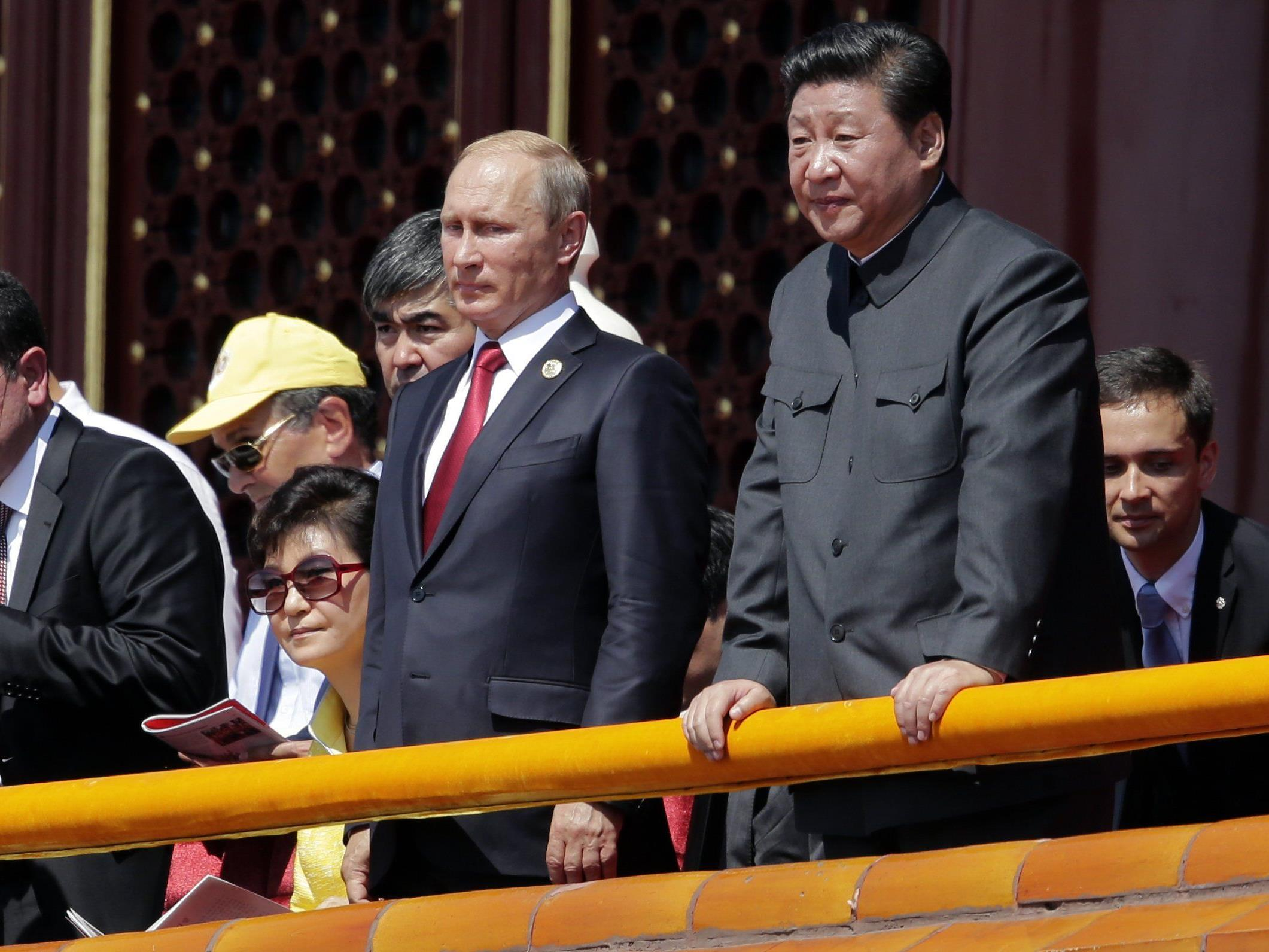 Einflusssphären: Russland und China werden sich in den kommenden Jahren in die Quere kommen.
