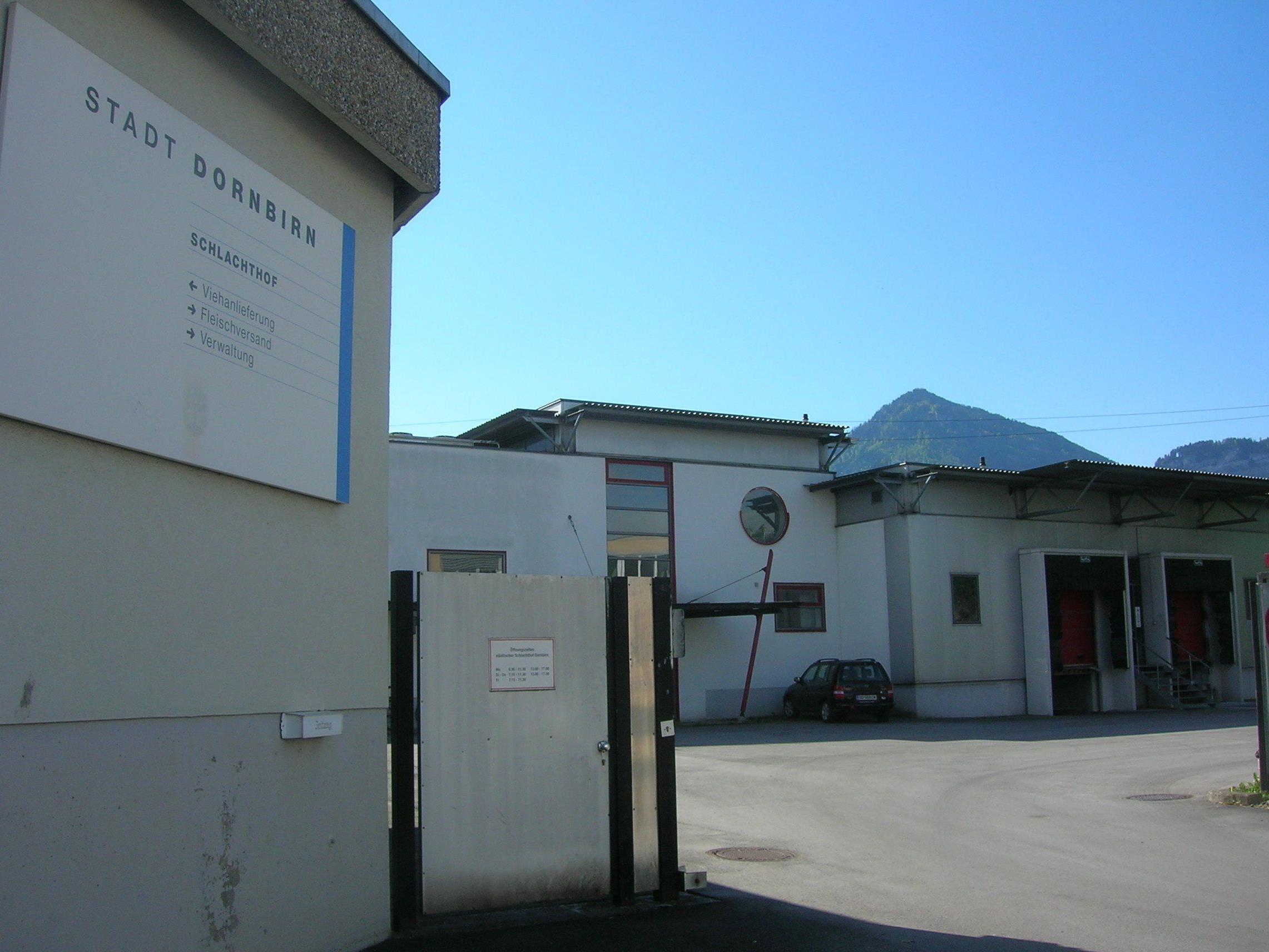 Der Schlachthof in Dornbirn soll von einem privaten Besitzer weitergeführt werden.