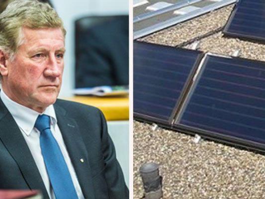 Solaranlagen-Affäre: Schwärzler legt Zahlen vor.