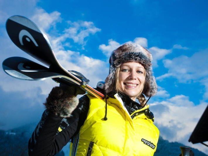 Skifahren ist ein teures Hobby