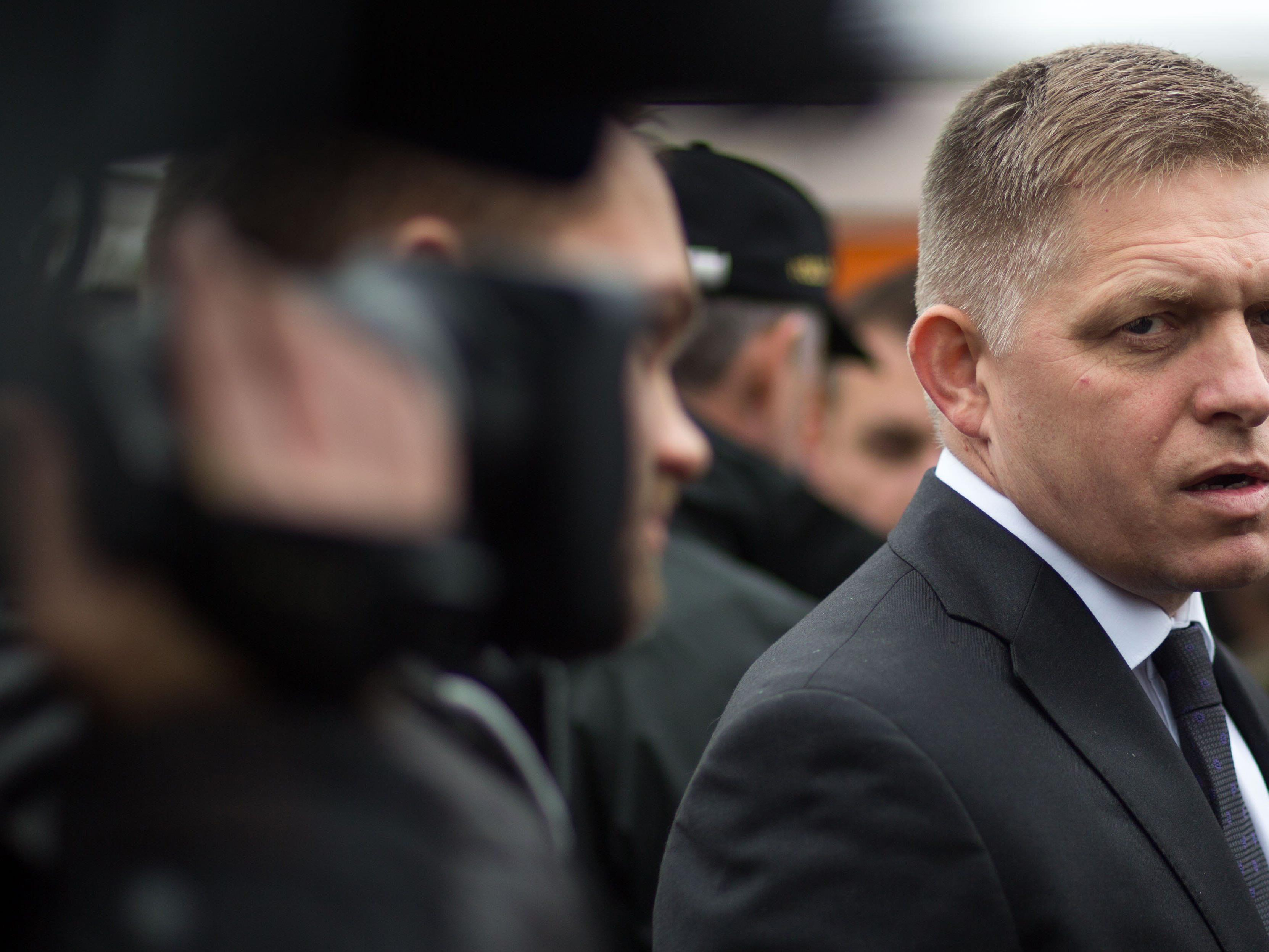 Slowakei reichte Klage gegen EU-Flüchtlingsquote ein. Im Bild: Robert Fico.
