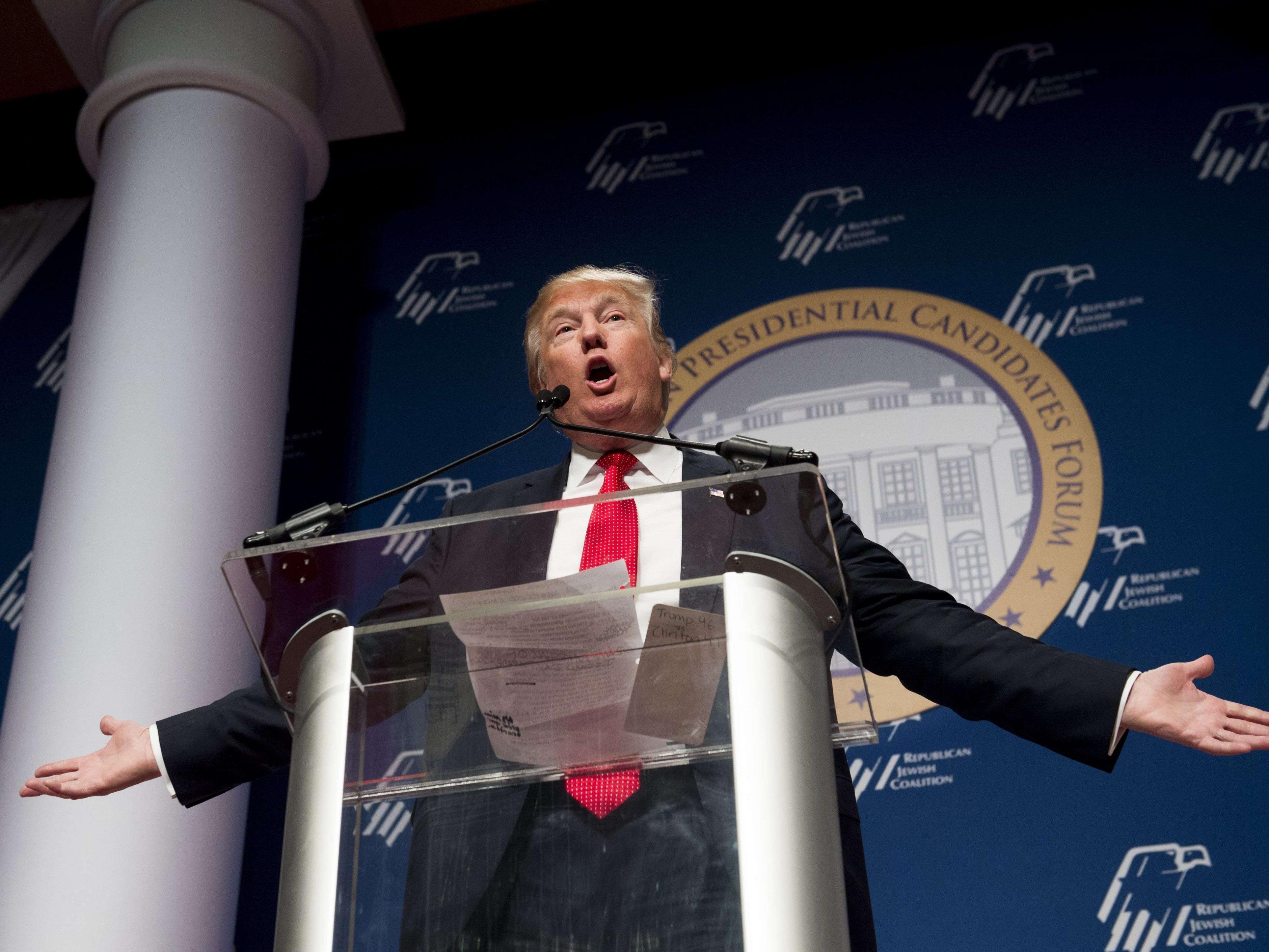 Trump hatte in den vergangenen Wochen wiederholt mit islamfeindlichen Äußerungen für Empörung gesorgt.