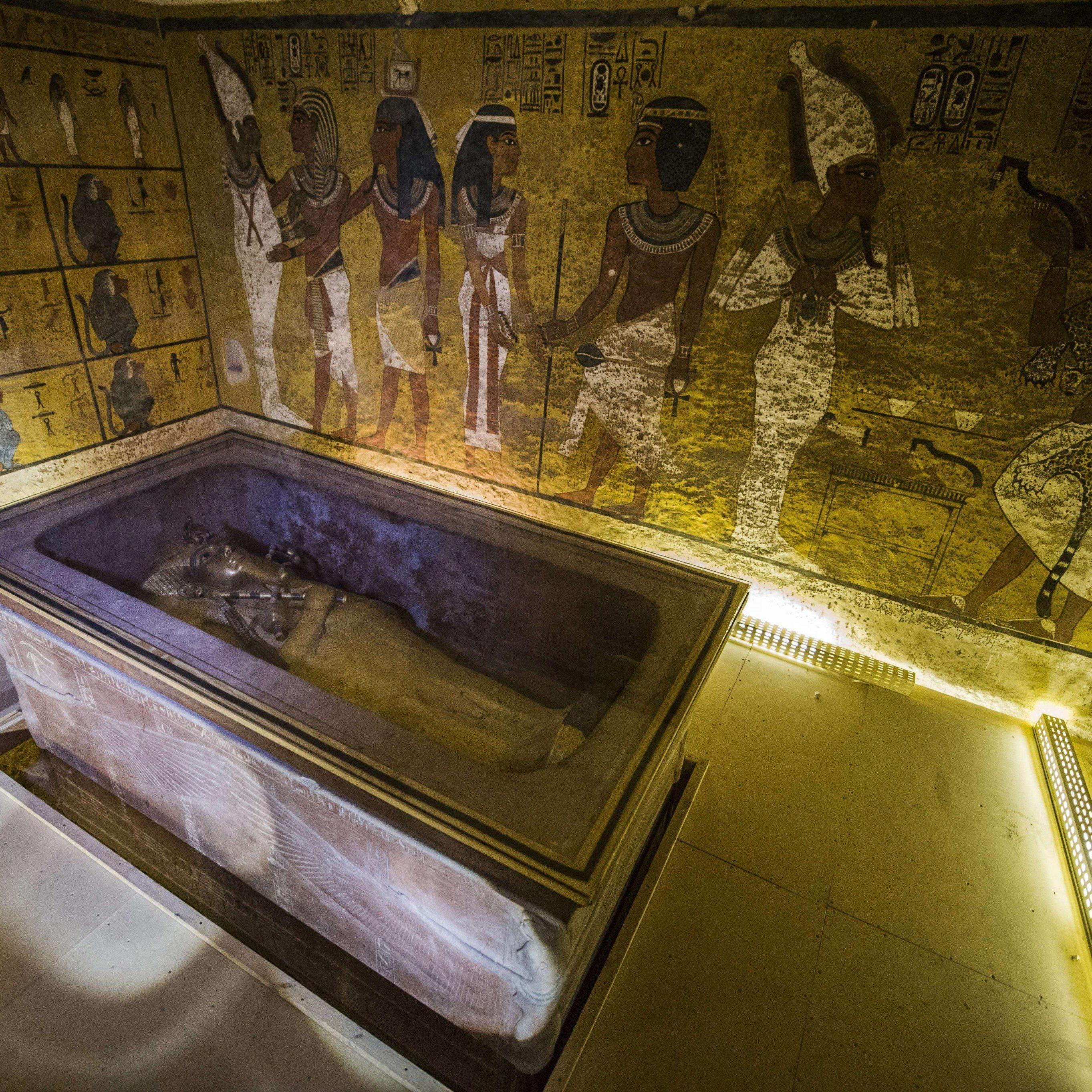Wertvoller Fund hinter Tutanchamun-Grabkammer möglich