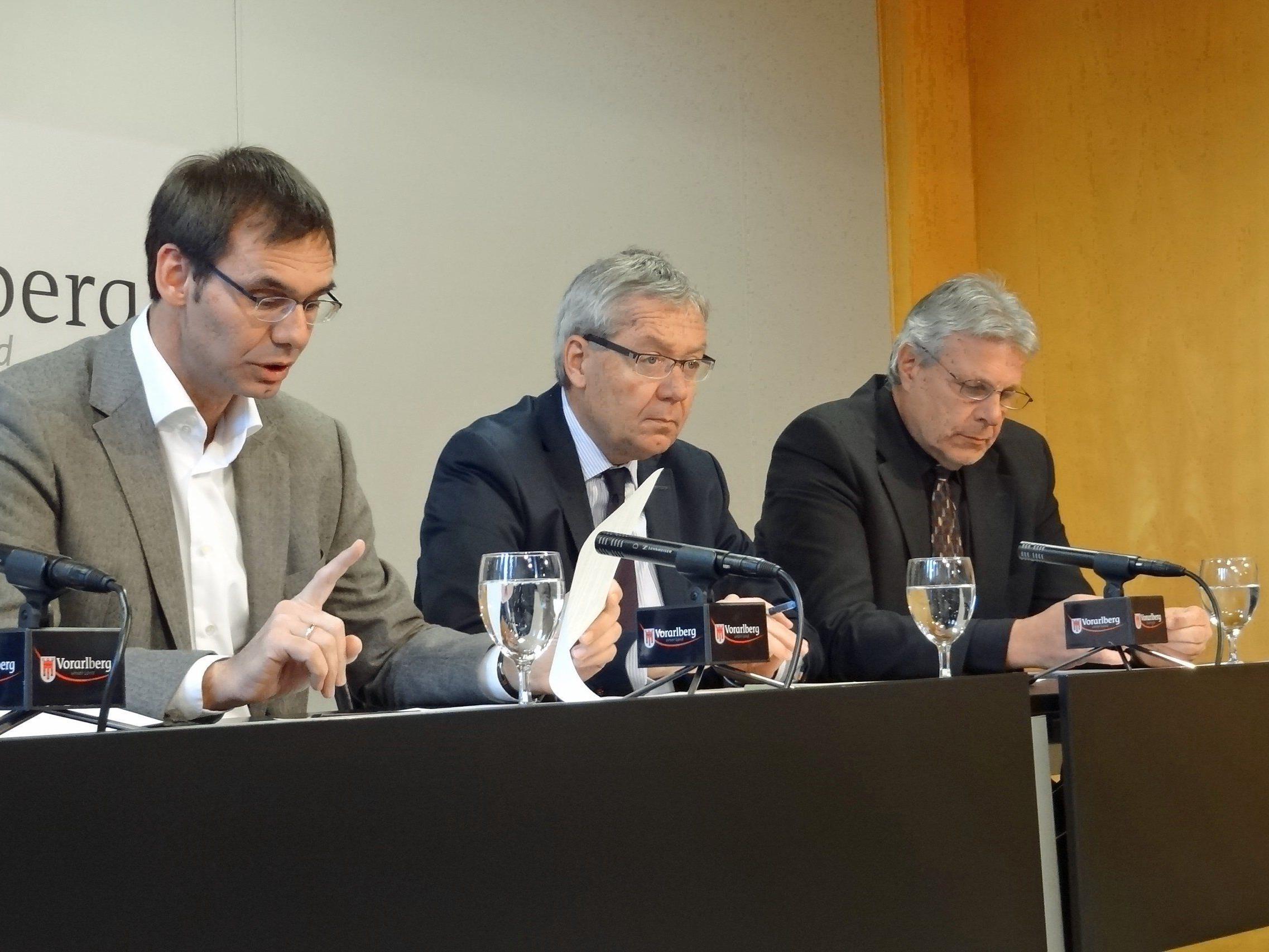 Mittel von 3,3 Mio. Euro für die drei Projekte stammen zu 50 Prozent aus dem Europäischen Sozialfond