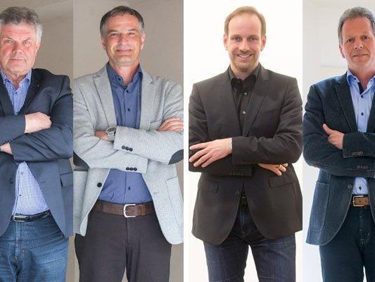 Bludenz: Bgm. Mandi Katzenmayer (ÖVP) gegen Mario Leiter (SPÖ). Hohenems: Dieter Egger (FPÖ) gegen Bgm. Richard Amann (ÖVP).
